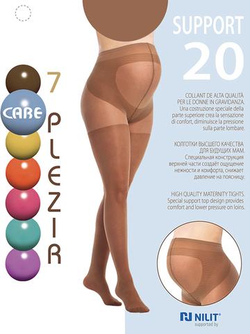 Колготки для беременных Support 20 den; цвет: загар