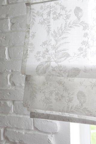 Римская штора Велта белый