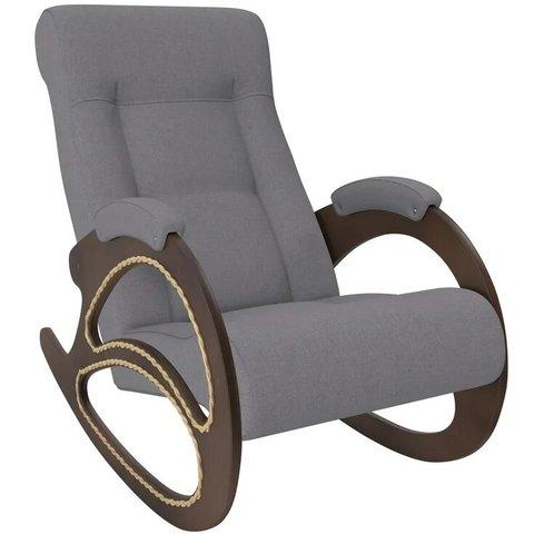 Кресло-качалка Комфорт Модель 4 орех/Montana 804