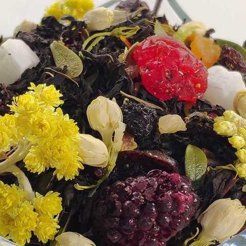 Черный десертный чай Для самой самой ЧАЙ ИП Кавацкая М.А. 0,1кг