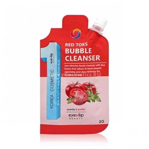 Пенка для умывания пузырьковая Eyenlip с экстрактом томата 20 гр