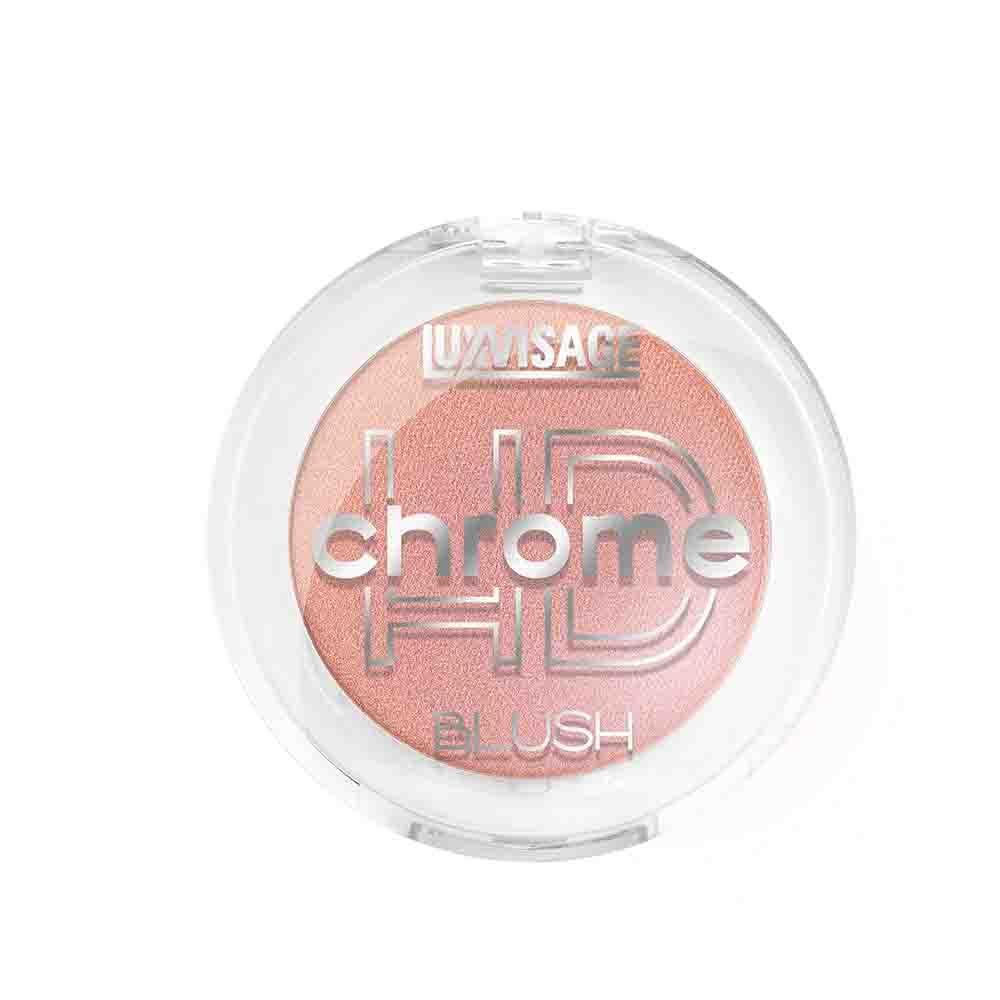 Румяна для лица компактные HD chrome