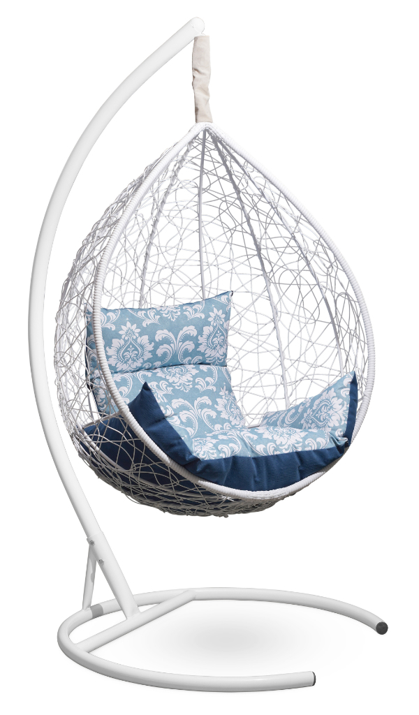 SEVILLA ELEGANT белое + синий-голубой