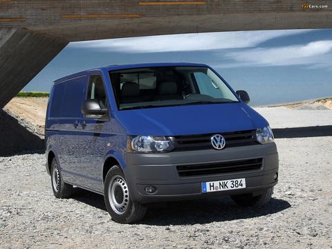 Чехлы на Volkswagen T5 фургон Multivan / Caravelle / Transporter 2009–2015 г.в.