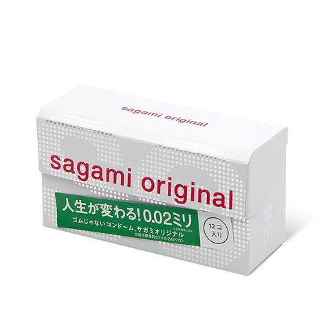 Sagami Original 0,02 №12 Презервативы полиуретановые