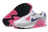 Кроссовки женские Nike Air Max 90 Grey Pink Blue
