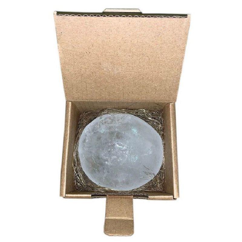 Дезодорант-кристалл Алунит шлифованный в коробочке