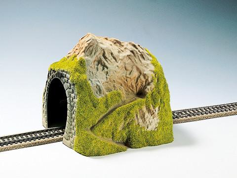 Макет туннеля - малая гора, (прямой)