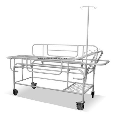 Тележка-каталка для перевозки больных ТК - ТС 02 - фото