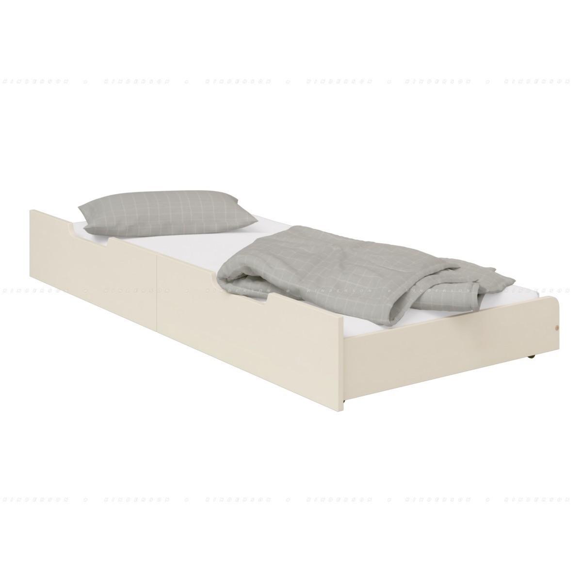 Дополнительная выдвижная кровать на колесах