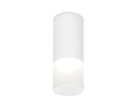 Накладной светодиодный точечный светильник Ambrella TN230 WH/S белый/песок