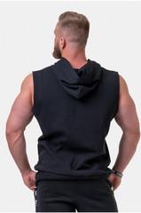 Мужская футболка Nebbia Golden Era ragtop hoodie 197 black