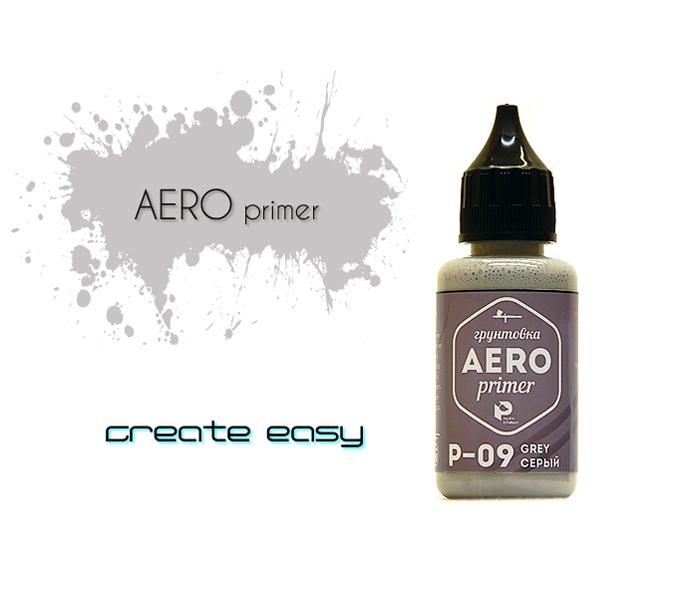 Грунты для аэрографа P09 грунт Серый (Grey Primer), 30мл p09.jpg