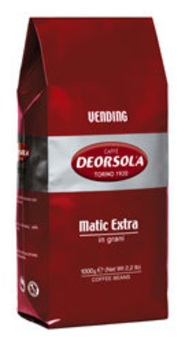 Кофе Deorsola Matic Extra  в зернах 1 кг
