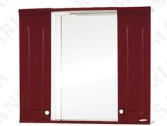 Зеркало-шкаф SanMaria Венге-100 вишня