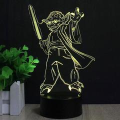 Йода со световым мечом