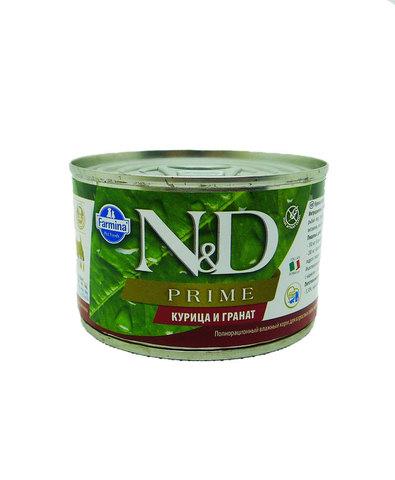 Farmina N&D Dog консервы для собак мелких пород (курица с гранатом) 140 г