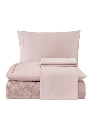 Набор с покрывалом  Tivolyo Baroc (розовый)