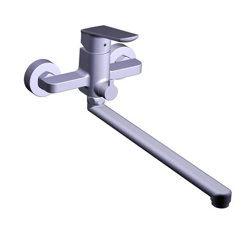 Смеситель для ванны TOPAZ LEXI TL21208A-H57-W