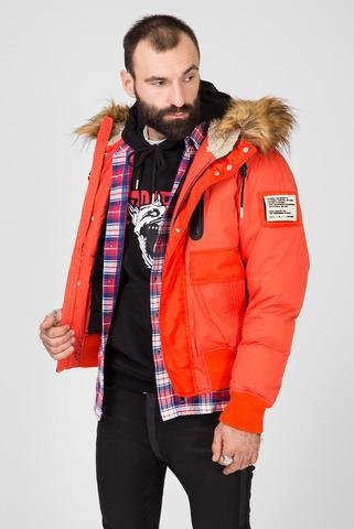 Мужская оранжевая куртка W-BURKISK Diesel