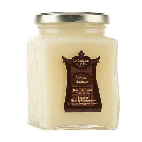 La Sultanе De Saba Масло карите лотос / франжипани Shea Butter Lotus and Frangipani Flowers