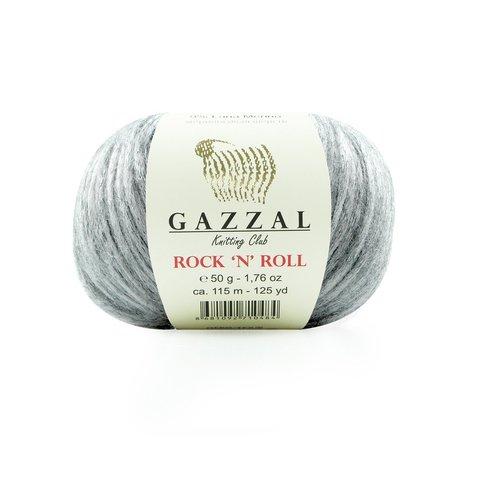 Пряжа Gazzal Rock n Roll 13255 серебро