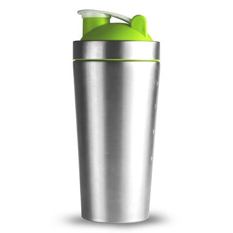 Шейкер Asobu Shake it baby (0,8 литра), зеленый