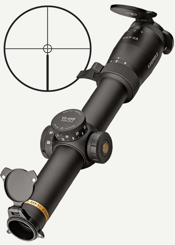 Leupold VX-6HD 1-6x24 CDS-ZL2 FireDot Circle с подсветкой