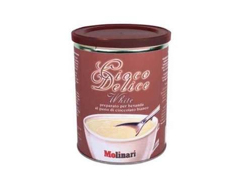 Горячий шоколад Molinari White Chocolate, 500 гр