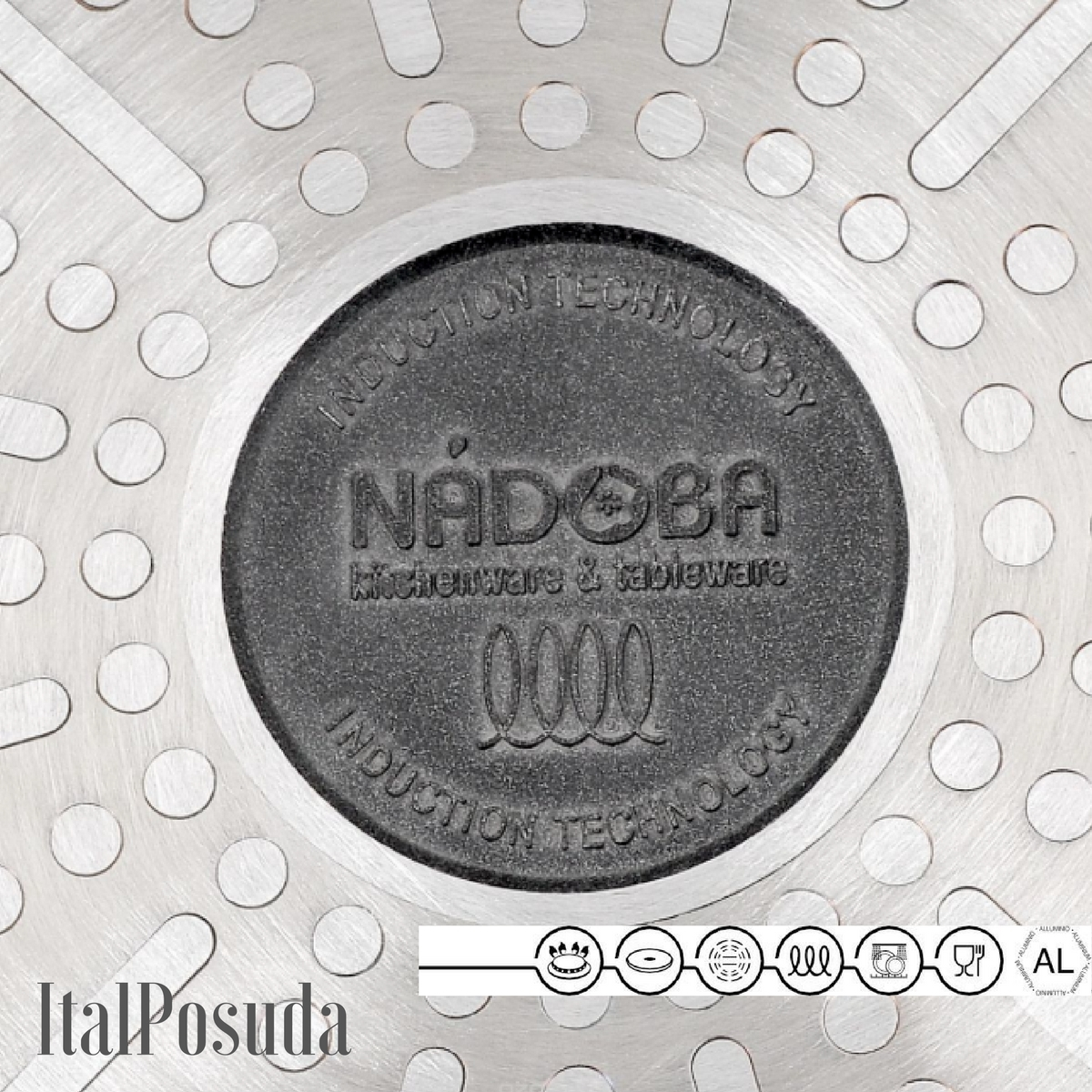 Сотейник со съемной ручкой NADOBA VILMA, 28 см