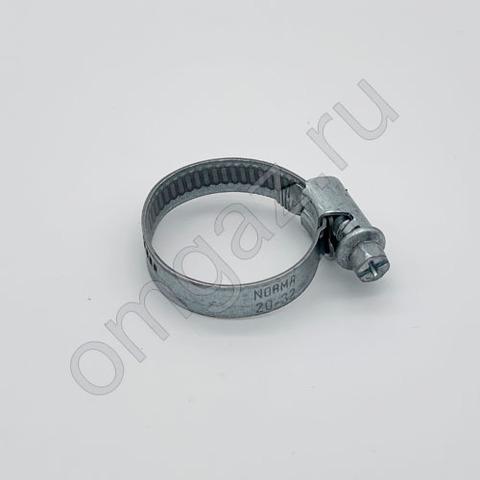 Хомут червячный NORMA 20-32 мм