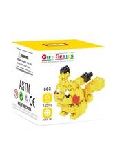 Конструктор Wisehawk & LNO покемон Пикачу 135 деталей NO. 083 Pikachu Gift Series