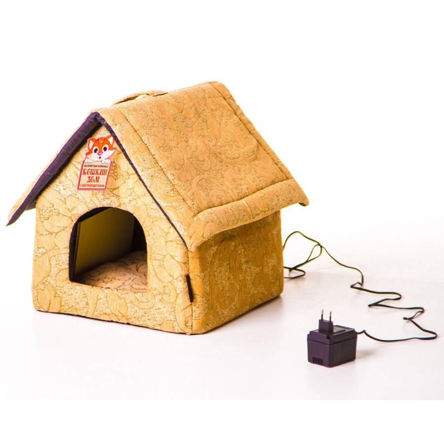 Товары для животных Лежанка для кошек Кошкин дом с электрообогревом Будка lezhanka-dlya-koshek-koshkin-dom-s-elektroobogrevom-budka.jpg