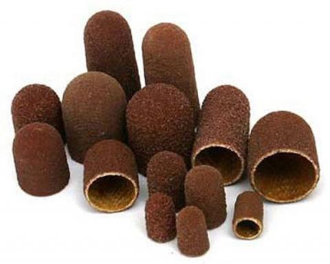 Песочные колпачки для аппаратного педикюра д.10 (150) 5 шт купить за 590руб