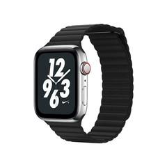 Ремешок кожаный COTEetCI W7 Leather Magnet Band (WH5205-BK) для Apple Watch 40мм/ 38мм Черный