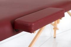 Массажный стол деревянный 2-хсекционный RESTPRO Classic 2 Red