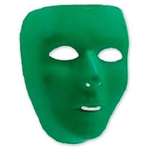 Маска пластик зеленая/А