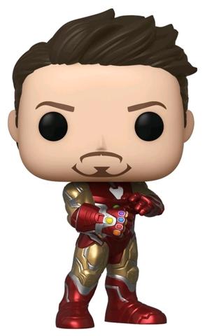 Фигурка Funko POP! Bobble: NYCC Exc: Marvel: Avengers Endgame: Iron Man w/Gauntlet (Exc) 43363