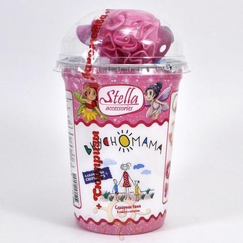 "Сладкая вата ""Stella accessories"" с игрушкой Вкусномама, 30г"