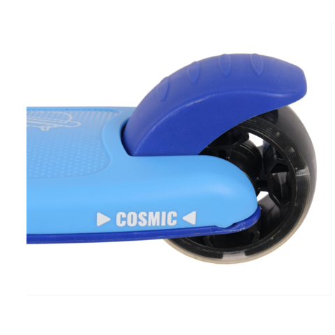 Трехколесный самокат PLANK Cosmic со светящейся платформой и колесами