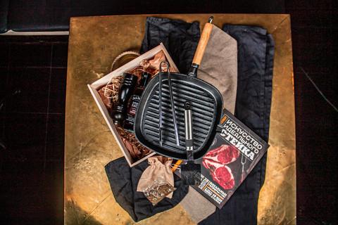 Подарочный набор MEDIUM STEAK для  барбекю и гриля