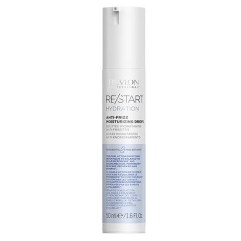 REVLON Restart Hydration: Увлажняющие капли для смягчения волос (Anti-Frizz Moisturing Drops), 50мл