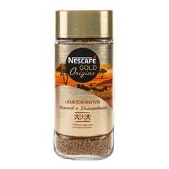 """Кофе """"Nescafe"""" Gold Uganda-Kenya растворимый c/б 85г"""