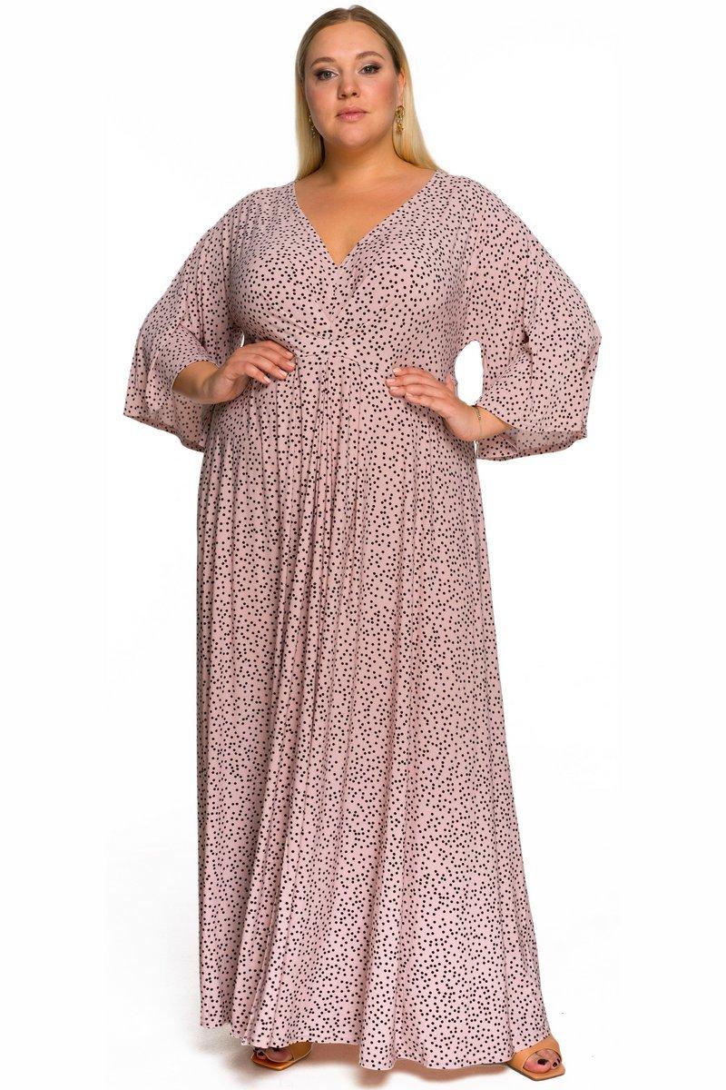 Платья Платье пудровое в горошек 228408 00c5b844d46e903e3722e769543b7a71.jpg