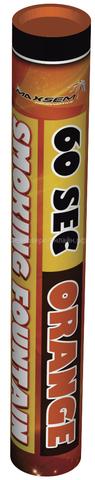 Дым оранжевый 60 сек. h -220 мм.
