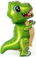 К Ходячая Фигура, Маленький динозавр, Зеленый, 30''/76 см, 1 шт.