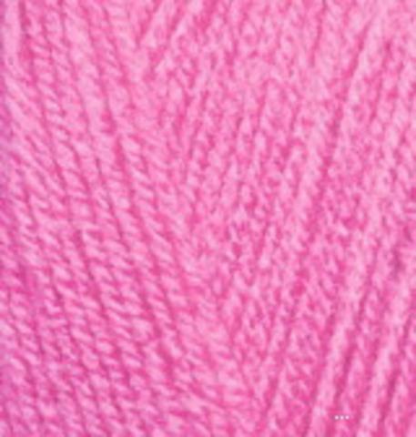 Alize Sekerim BEBE 157 ярко-розовый фото