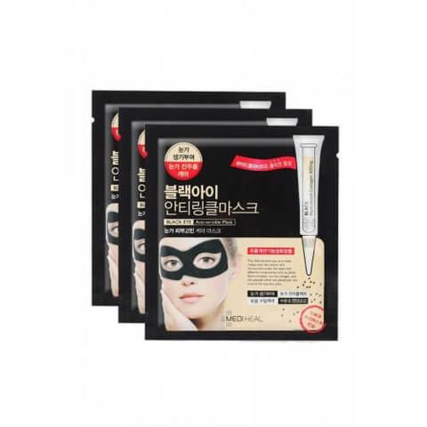 MEDIHEAL Black Eye Anti Wrinkle Mask (3 Pc)