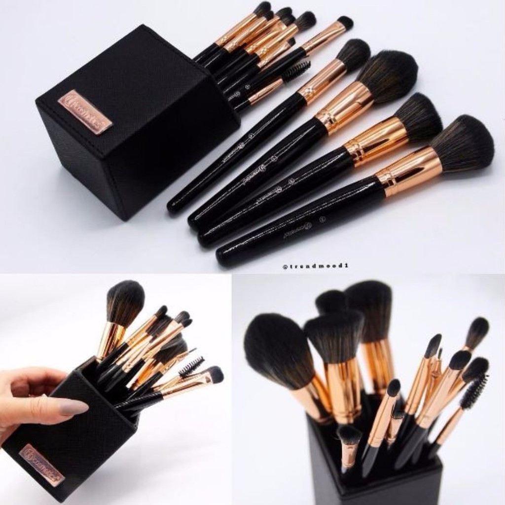BH Cosmetics Signature Rose Gold 13 piece Brush set
