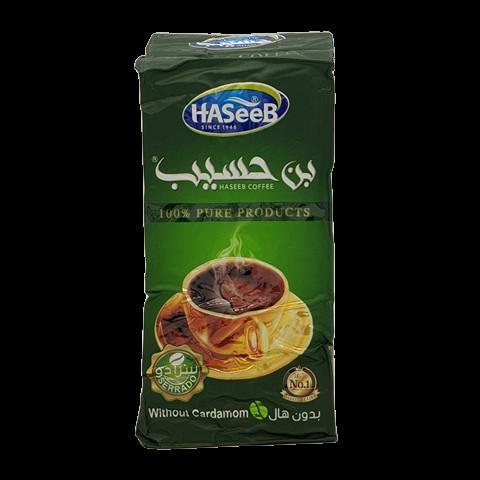 Арабский кофе без кардамона Хасиб HASEEB, 200 гр
